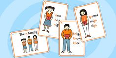 These posters are a brilliant visual representation of the 'n' sound family - with different posters to show the different letters that make up the sound 'n', these will make a great addition to your display!