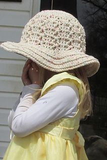 Shades of Spring toddler/adult hat free patterns