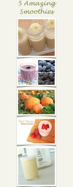 Here are Five of the BEST smoothie recipes that I have found!!   http://wholelifestylenutrition.com