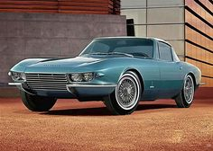 The never-produced 1963 Pininfarina Corvette