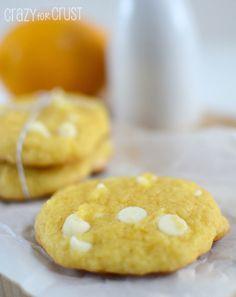 Lemon White Chocolate Cake Mix Cookies