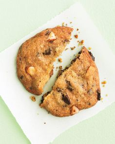 Chocolate-Chunk Cookies with Almonds - Whole Living Eat Well