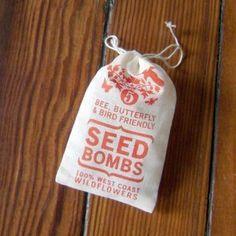 Seed Bombs: West Coast Wildflowers ($7)