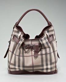 Classic Burberry handbag