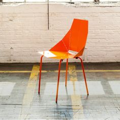 chair orang, blu dot, colors, dot real, smart design, oranges, furnitur, dots, accent chairs