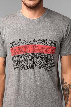 Junk Food Keith Haring Crack Is Wack Tee  #UrbanOutfitters