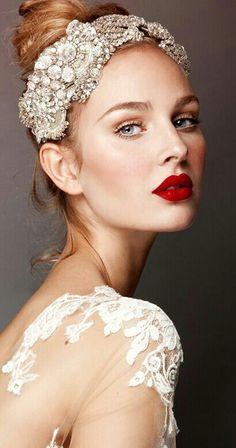 Bridal makeup examples on Pinterest