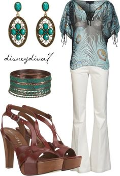 """""""Pretty Peacock"""" by disneydiva7 on Polyvore"""