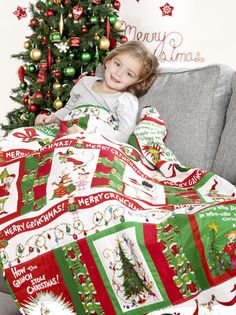 How the Grinch stole Christmas quilt