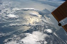 The Black Sea.  KN from space.