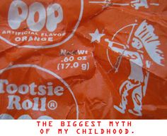 I remember the Tootsie Roll wrappers being a HUGE deal as a kid.  Everyone wanted to find the one with a star because we all thought it was worth a prize...
