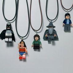 LEGO Mini Figure Necklace by ValGlaser on Etsy
