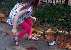 Teaching your children to care for their environment by cleaning up the neighborhood.