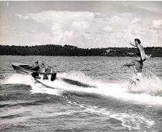 vintag boat, wood boat, lake life, boat time, lake fun