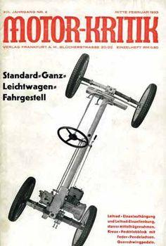 Josef Ganz, de man achter de Maikäfer. De Volkswagen Kever was een idee van een Joodse ingenieur.