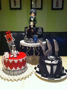 Black Butler cakes kuroshitsuji