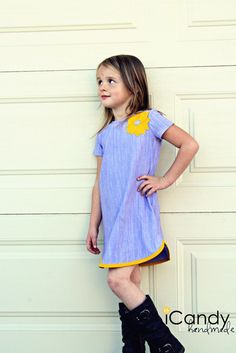 (tutorial and pattern) {girly} Racer Tunic