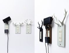 Socket deer by Nendo, I would probably get all my clothes caught on these.
