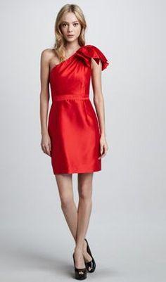 REVEL: Red Cocktail Dress