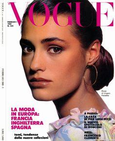 Vogue ITALIA, Feb 1988. Yasmin Le Bon by Steven Klein