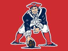 Old school patriots mascot okay so i m a loyal new york jets