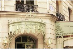 Laduree Macaron Shop-Paris, France