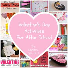 Last Minute Valentine's Day Ideas from After School Link Up hosted by The Educators' Spin On It