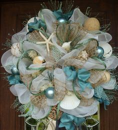 Deco Mesh BEACH Wreath