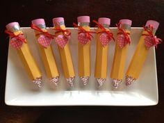 Rolo/Hershey Kiss Valentine Pencils