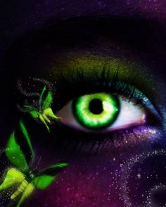 . fairies, beauti eye, fairi eye, window, amaz eye, soul, glow green, green eyes, eye art