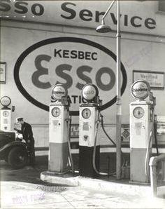 Gasoline Station, Tenth Avenue and 29th Street, Manhattan.