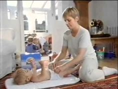 Pampers Baby Dry - Smooth Diaper Change German Version - Commercial - 1995 http://www.pampers.com/globalsplash