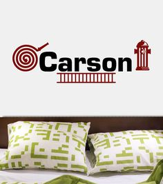 one of my grandsons names, Carson....
