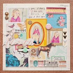 A layout using my new STYLEBOARD collection for Crate Paper!!