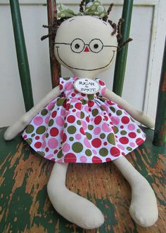 handmade cloth rag doll