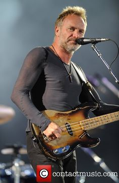 Sting aka Gordon Sumner of The Police Isle of Wight... | Police Picture 1923736 | Contactmusic.com