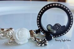 Beautiful NEW black lockets are great for Mother's Day too.