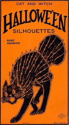 Halloween Cat Silhouettes