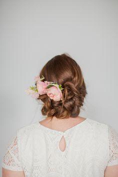 DIY Tousled Wedding Hair
