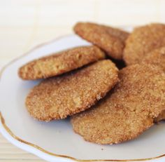 Paleo & AIP Snickerdoodles! | From www.hewontknowitspaleo.com
