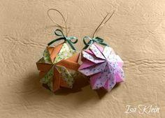 origami modular, da isa, fabric fold, origami hajtogatá