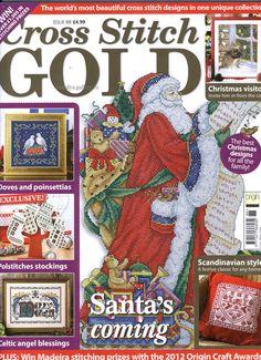 Gallery.ru / Фото #1 - Cross Stitch Gold 88 - Los-ku-tik  Lots of really wonderful Christmas patterns here.