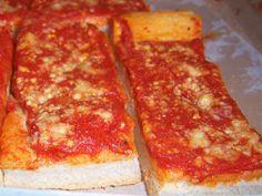 Tomato Pie Upstate NY Style Recipe italian recip, style cuisin, food, pie upstat, pies, style recip, italian style, italian tomato, tomato pie