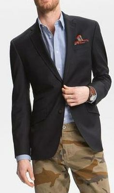 Essential: Navy Blazer