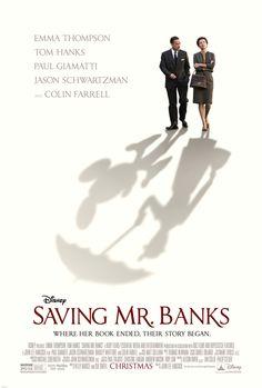 Saving Mr. Banks Movie Poster, Trailer, and Free Book #SavingMrBanks