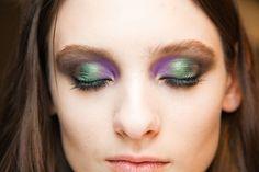 #peacock eye shadow