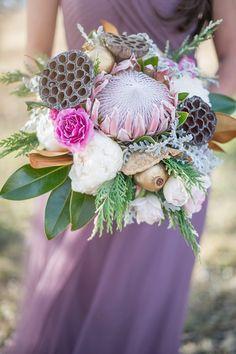 Stunning winter bridal session