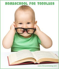 Homeschool for Toddlers! Check out these great Educational Toddler Activities!