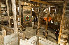 World's Tallest Treehouse in Crossville, Tennessee
