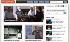 Curated Video Collection Of Talks, Lectures, Presentations: Keen Talks